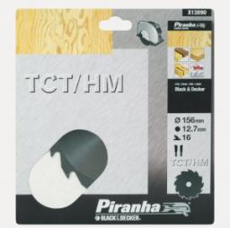 Black&Decker Piła tarczowa z węglikiem TCT/HM 156x12,7x16z (X13090)