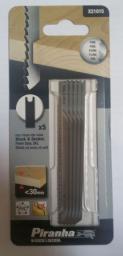 Black&Decker Brzeszczot do wyrzynarek typ U HCS100x75mm podziałka 2,5mm 5szt, do drewna (X21015)