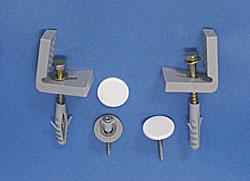 Koło Zestaw montażowy do misek kompaktowych, półpostumentów, misek i bidetów wiszących A3569