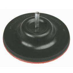 Verto Tarcza gumowa z rzepem 125mm 61H710