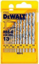 Zestaw wierteł Dewalt Komplety wierteł do metalu HSS-G (DT5922-QZ)