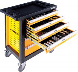 Wózek narzędziowy Vorel 6 szuflad z wyposażeniem 177szt. (58540)