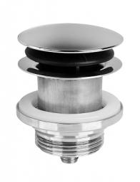 """McAlpine Korek automatyczny klik-klak 5/4"""" duży chrom (CWP60-CB)"""