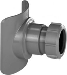 McAlpine Uniwersalne siodło mechaniczne do pionów kanalizacyjnych 110/50mm (BOSSCONN110-50-GR)