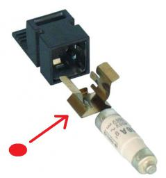 Eaton Element dopasowujący bezpieczniki D01 do wtyków rozłącznika Z-SLS/CB 263154