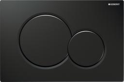Przycisk spłukujący Geberit Sigma 01 do WC czarny (115.770.DW.5)