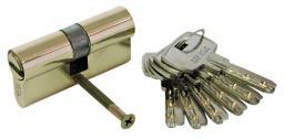 MEGA Wkładka symetryczna mosiężna 62mm na karcie - 24666