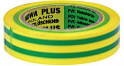 MEGA Taśma izolacyjna PCW 15mm 10m 1000V żółtozielona - 13101L