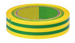 MEGA Taśma izolacyjna PCW 15mm 10m 1000V zielona - 13101Z