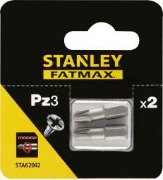Stanley Końcówki wkrętakowe Torsion PZ3x25mm 2szt. (STA62042)