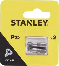 Stanley Końcówki wkrętakowe PZ2x25mm 2szt. (STA61041)