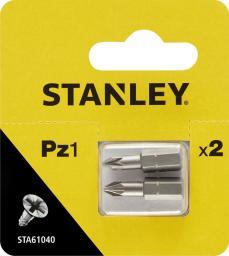 Stanley Końcówki wkrętakowe PZ1x25mm 2szt. (STA61040)