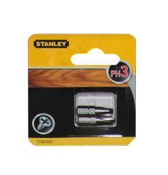 Stanley Końcówki wkrętakowe Ph3/25mm 2szt. - STA61022