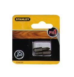 Stanley Końcówki wkrętakowe Ph1/25mm 2szt. - STA61020