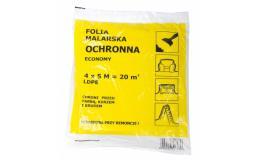 Folia malarska MEGA cienka 4 x 5m (F60003)