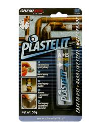 Chemistik Kit epoksydowy PLASTELIT szybkołączący dwuskładnikowy 50g