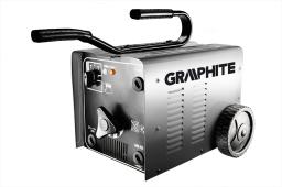 GRAPHITE Spawarka transformatorowa  230/400V, 80 - 250A - 56H804