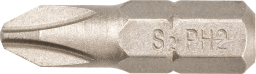 GRAPHITE Końcówki wkrętakowe PH2x25mm 20szt. - 57H955