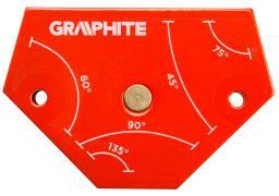 Graphite Spawalniczy kątownik magnetyczny 64x95x14mm 11,4kg - 56H904