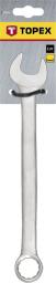 Topex Klucz płasko-oczkowy 24mm (35D393)