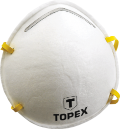Topex Półmaska przeciwpyłowa z 1 zaworkiem FFP2 2szt. - 82S132