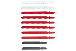 Verto Brzeszczoty do wyrzynarki uchwyt typu T 10szt. (64H210)