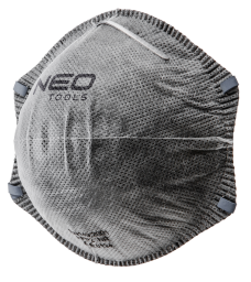 NEO Półmaska przeciwpyłowe z aktywnym węglem FFP2 3szt. (97-300)