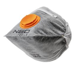 NEO Półmaska przeciwpyłowe składana z aktywnym węglem FFP1 z zaworem 3szt. - 97-311