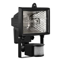 Naświetlacz Zext Oprawa halogenowa z czujnikiem 150W żarnik czarna - C05-ES65Z-CZ