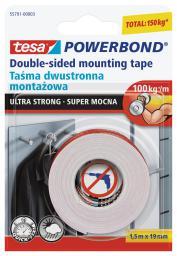 Tesa Taśma montażowa Powerbond dwustronna 1,5m 19mm (H5579103)