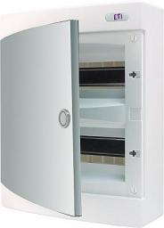 Eti-Polam Rozdzielnica natynkowa ECT24PO-s 24M IP40 drzwi białe (001101072)