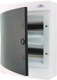 Eti-Polam Rozdzielnica natynkowa ECT24PT-s 24M IP40 drzwi transparentne 001101069