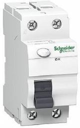 Schneider Electric Wyłącznik różnicowoprądowy 2P 40A 0,03A typ AC ID K - A9Z05240