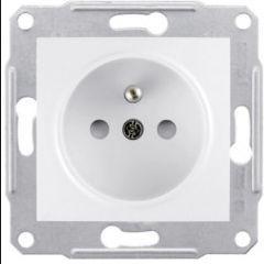 Schneider Electric Gniazdo pojedyncze z/u bez ramki białe (EPH2800721)