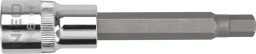 "NEO Nasadka trzpieniowa imbusowa hex 1/2"" H7 x 100mm długa (08-782)"