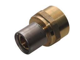 """KAN-therm Złączka zaprasowywana 20x2 G3/4"""" gwint wewnętrzny - K-900102"""