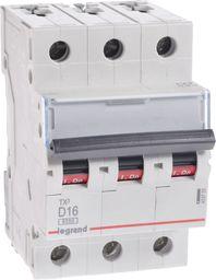 Legrand Wyłącznik nadprądowy S303 D16 TX3 16A 6kA 403755