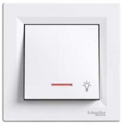 Schneider Electric Przycisk światło podświetlany biały (EPH1800121)