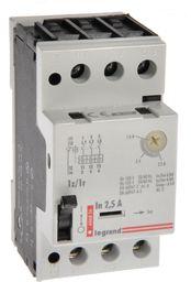 Legrand Wyłącznik silnikowy 3P 0,8kW 1,6-2,5A M250 1Z/1R 2,5 606826