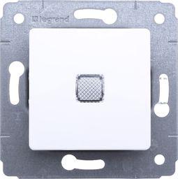 Legrand Przycisk z podświetlany Cariva biała (773613)