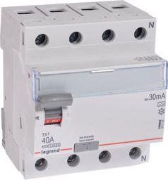 Legrand Wyłącznik różnicowoprądowy 4P 40A 0,03A typ A P304 - 411765