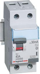 Legrand Wyłącznik różnicowoprądowy 2P 40A 0,03A typ AC P302 (411510)