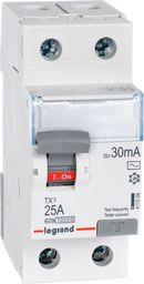 Legrand Wyłącznik różnicowoprądowy 2P 25A 0,03A typ AC P302 (411509)