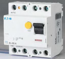 Eaton Wyłącznik różnicowoprądowy PFIM-100/4/03 4P 100A 0,3A typ AC - 102825