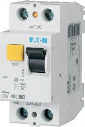 Eaton Wyłącznik różnicowoprądowy CFI6-40/2/003-BL 2P 40A 0,03A typ AC - 178475
