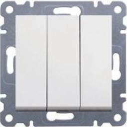Hager Polo Łącznik potrójny Lumina 2 biały (WL0070)