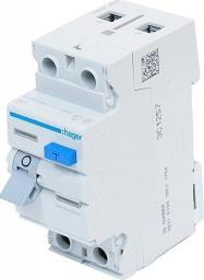 Hager Polo Wyłącznik różnicowoprądowy 2P 25A 0,03A A CDA225J