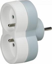 Legrand Rozgałęźnik wtyczkowy 16A pionowy biały - 50638