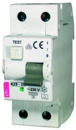 Eti-Polam Wyłącznik różnicowo-nadprądowy KZS-2M 2P 10A B 0,03A typ AC - 002173102