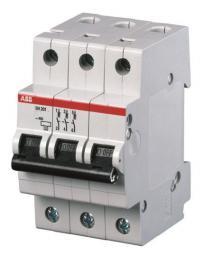 ABB Wyłącznik nadprądowy SH203-C10 3P C 10A 2CDS213001R0104